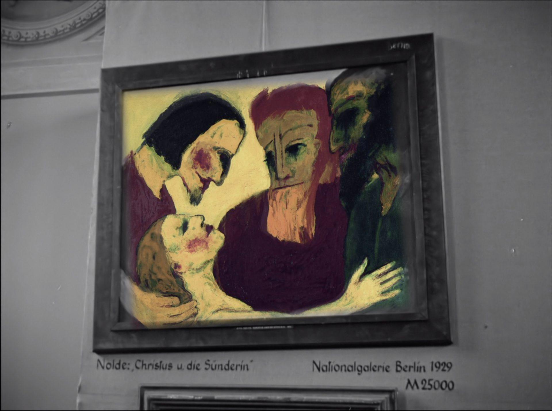 Nolde Ausstellung München 1937