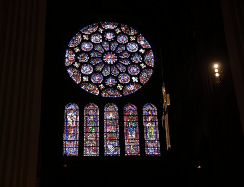God is the Light – Chartres