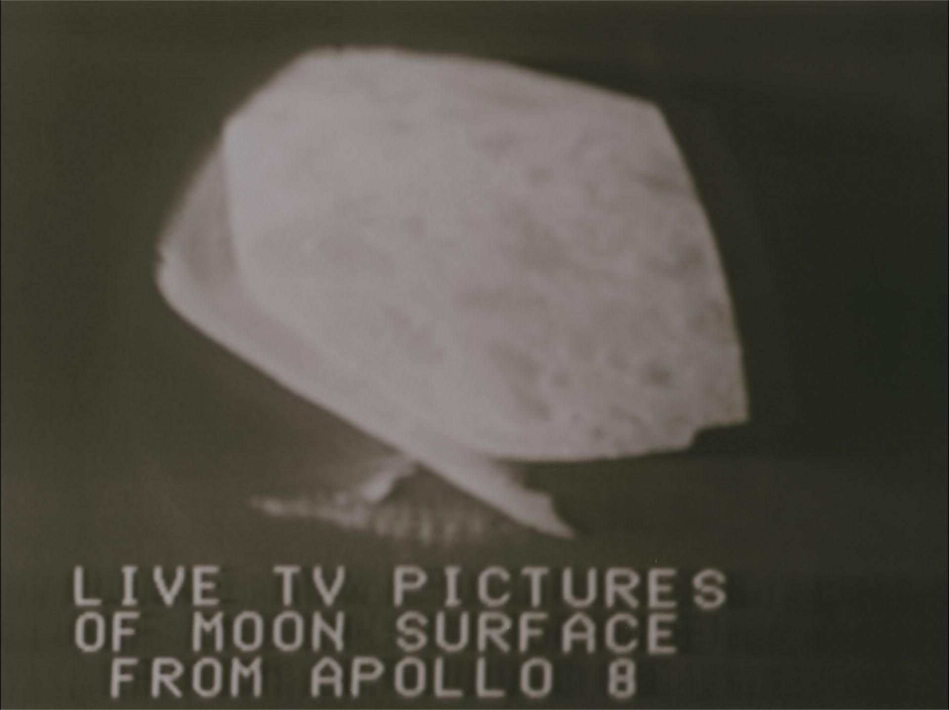 Apollo 8 live TV vom Mond