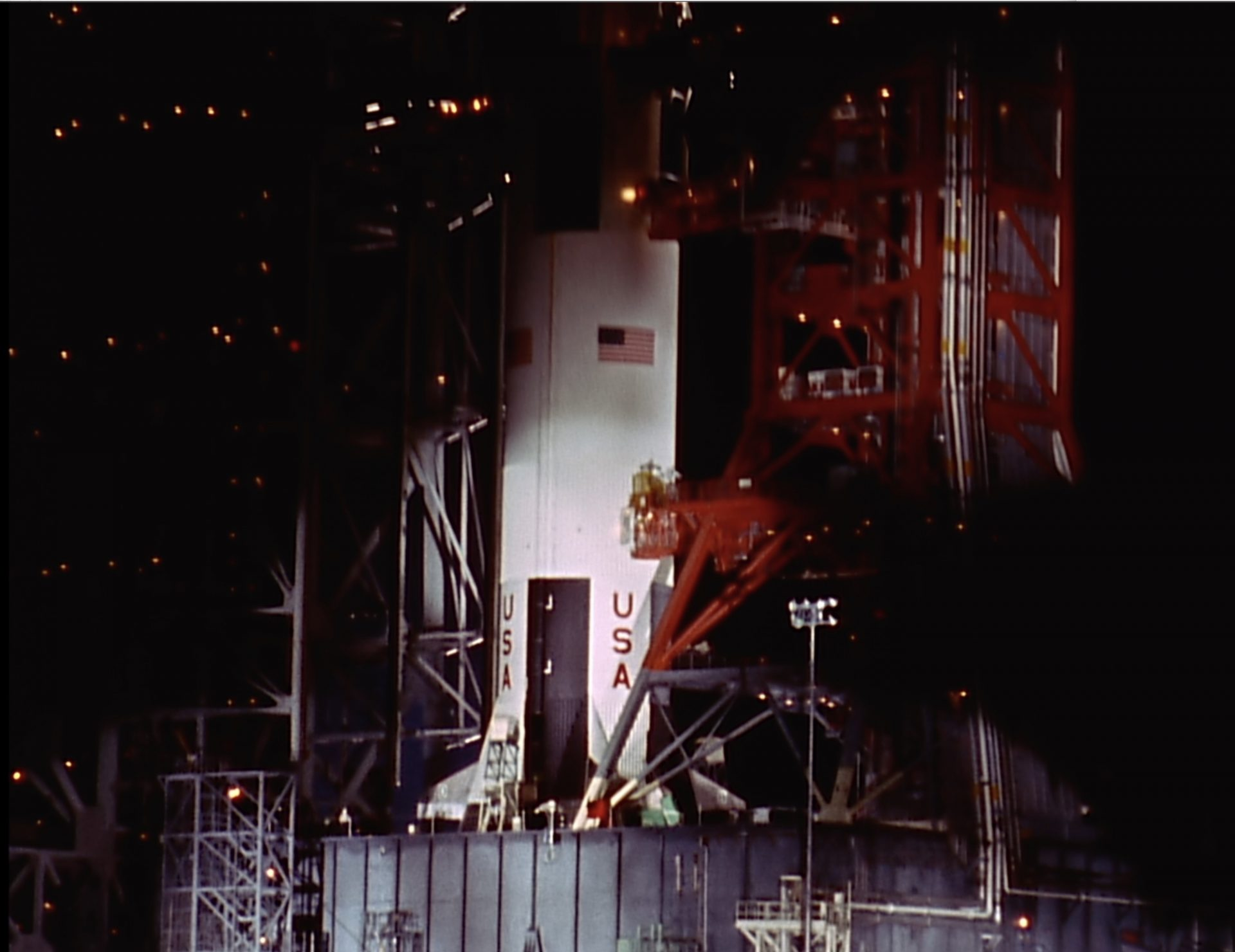 Apollo 9 - Saturnrakete vor dem Start