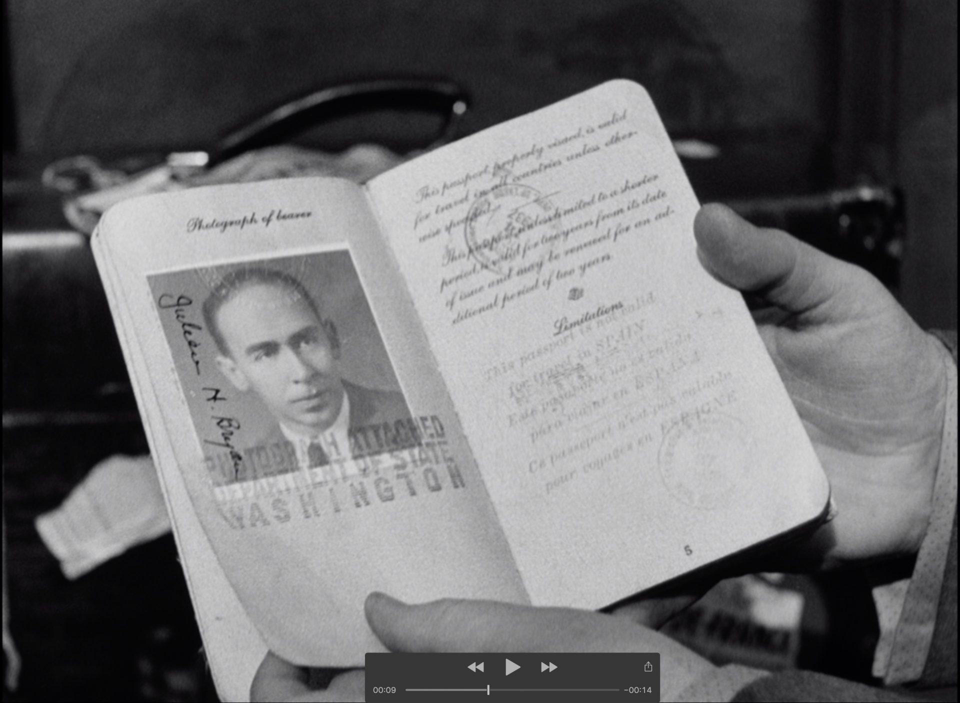 Passport Julien Bryan